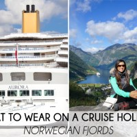 What To Wear On A Cruise Holiday: Norwegian Fjords