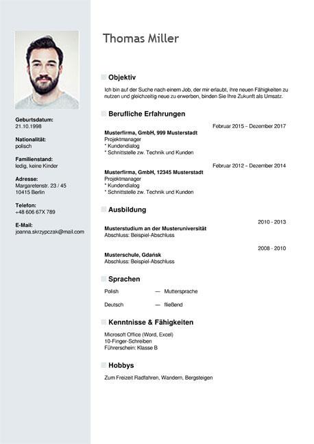 translate my resume in english