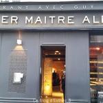 Dîner-test : restaurant Atelier Maître Albert Paris