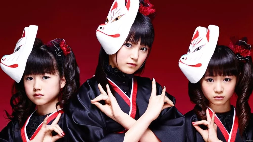 Kitsune Girl Hd Wallpaper Baby Metal Taking The Metal Media Spotlight