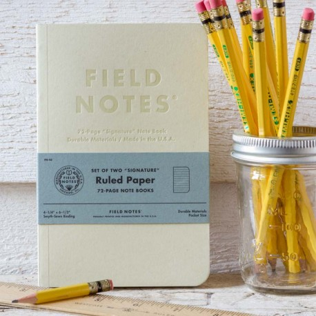 FIELD NOTES SIGNATURE NOTEBOOK⎟FIELD NOTES⎟LE COMPTOIR AMERICAIN