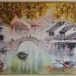 Классическая китайская летописная живопись в керамике
