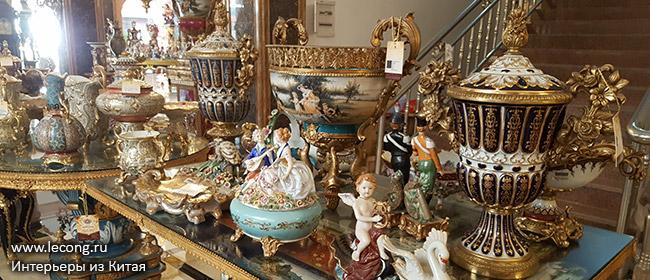 Люстры и декор в стиле барокко