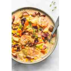 Small Crop Of Shrimp And Corn Chowder