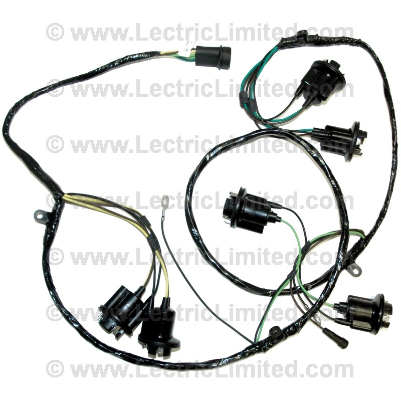 1948 buick wire harness