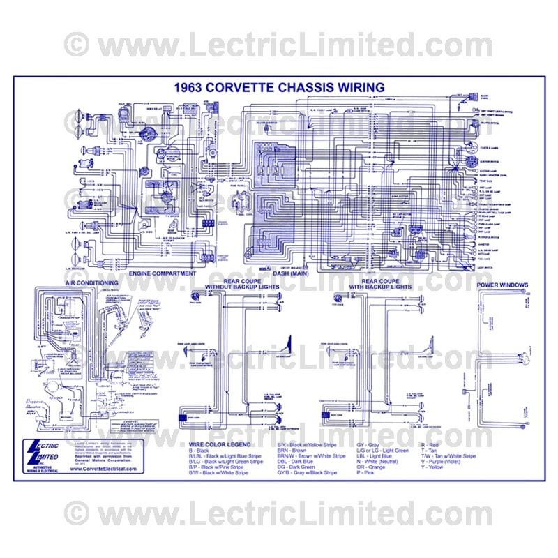 Wiring Diagram #VWD6300 Lectric Limited