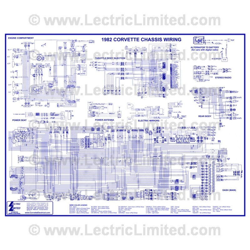 Wiring Diagram #VWD8200 Lectric Limited