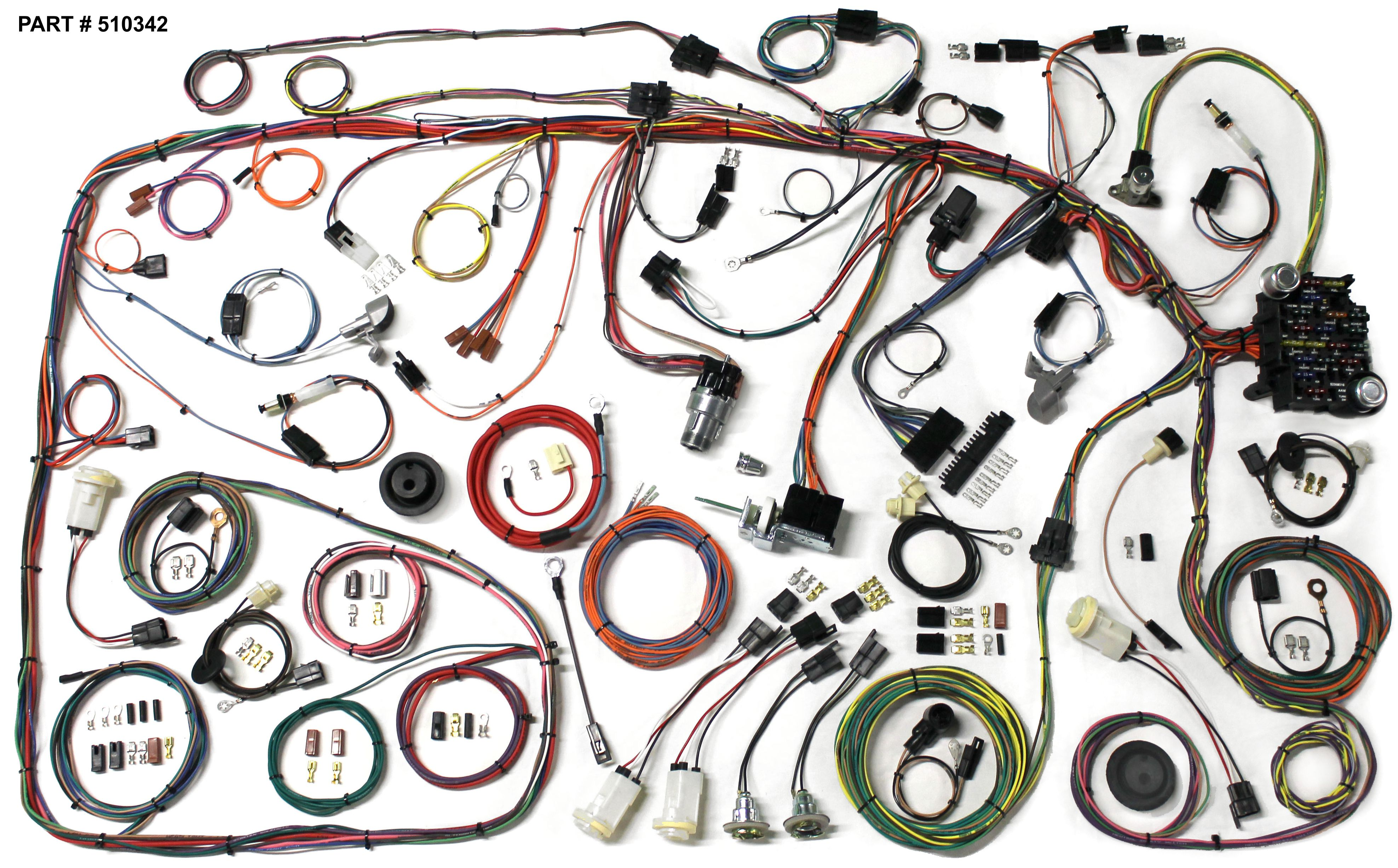 1987 ford wiring harnesses