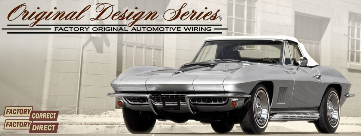 Exact OEM Reproduction Wiring Harnesses for Classic  Muscle Cars