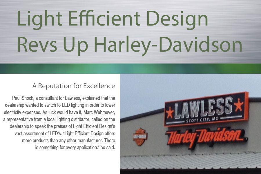 LED Transforming Light - Light Efficient Design LED for HID