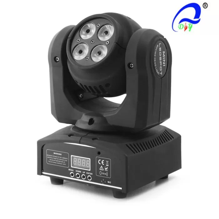 Double Face 8PCS*10W Mini Wash Led Moving Head Light Y Axis