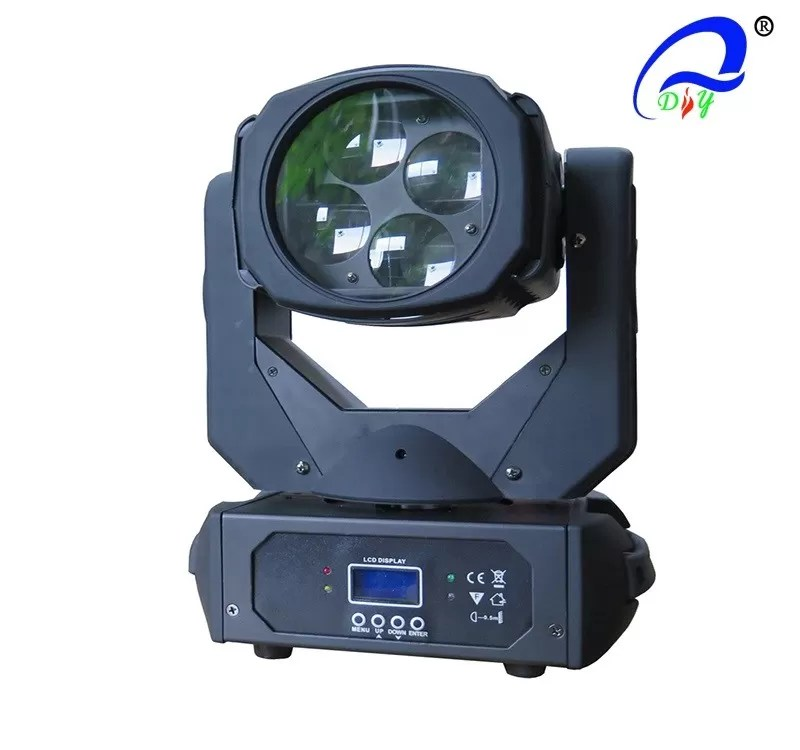 Macro Color System Moving Head Beam Light RGBW 4 In 1 Rotation LED