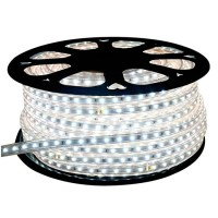 Christmas LED Rope Lights | 120V Outdoor Strip Lights ...