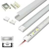LED Strip Light Fixtures | Aluminum Extrusion Channel ...