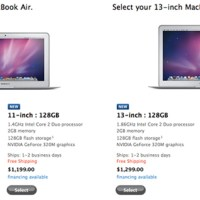 MacBook Air (2011) vs iPad 2 vs MacBook Pro