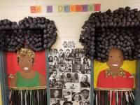 Albany, Georgia art teacher's Black History Month door ...
