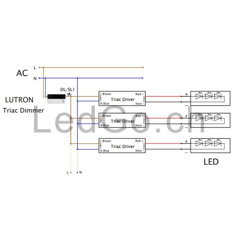 0 10 volt dimming schema cablage