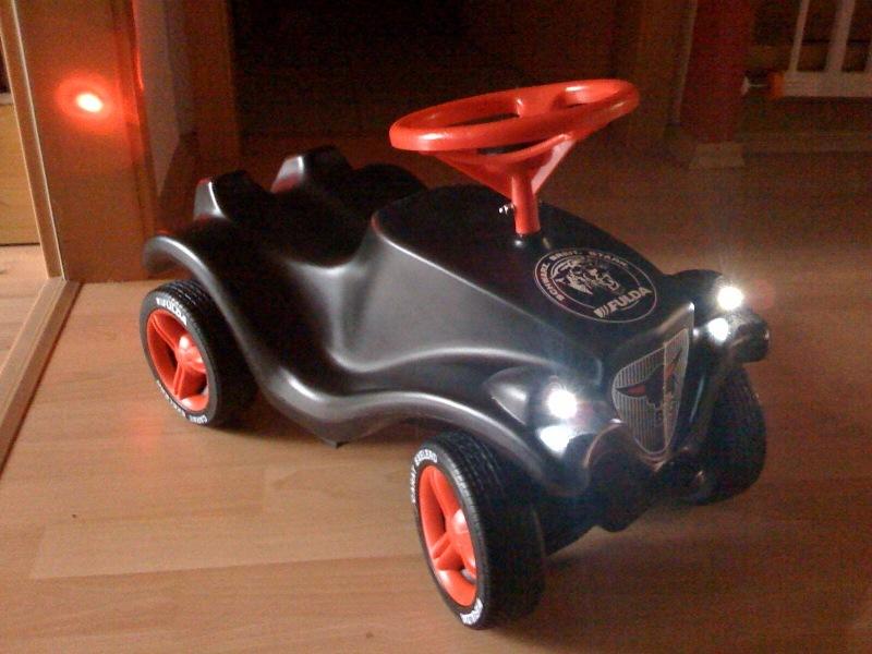 LED Beleuchtung für Kinder Autos (Rutscher/Elektro/Tret) Komplettset
