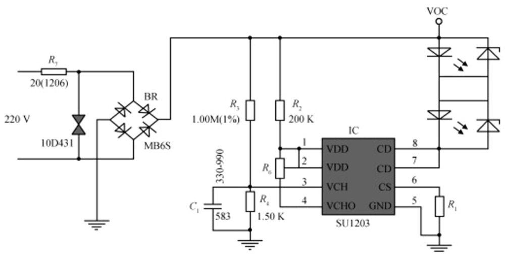 designing led circuit