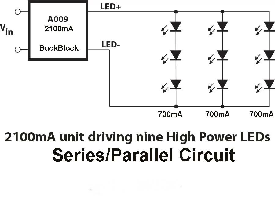 parallel wiring 12v led lights circuit diagram
