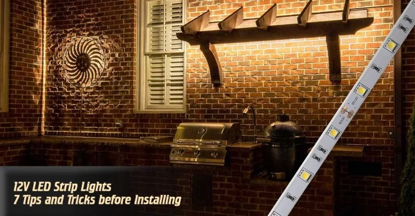 7 Things to Know Before Buying and Installing 12V LED Strip Lights