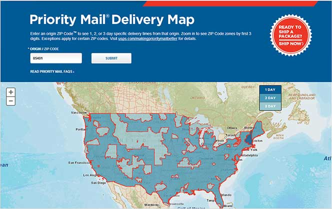 Best Of Usps Zone Chart | masterlist.foreignluxury.co