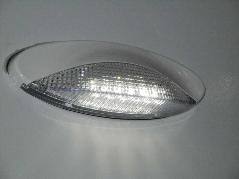Euro Style LED Porch Light