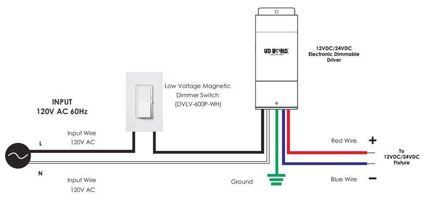 120v dimmer switch wiring diagram