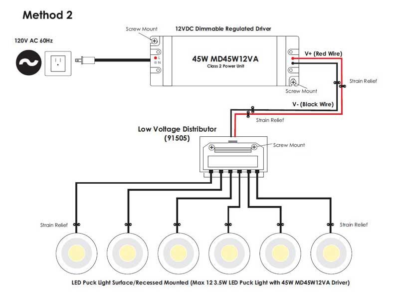 120v led wiring guide