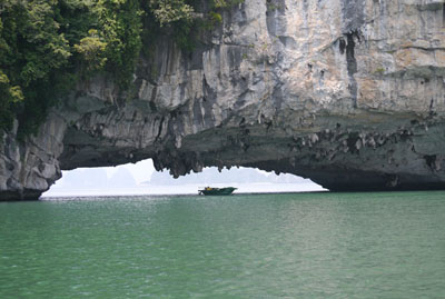 Another shot from Ha Long Bay