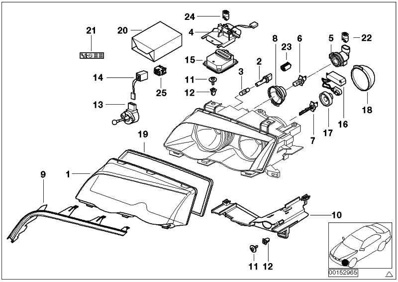 wiring diagram bmw 330ci headlamp