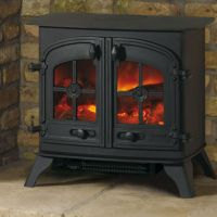 Electric Stove Heater Fireplace. Stonegate Electric ...