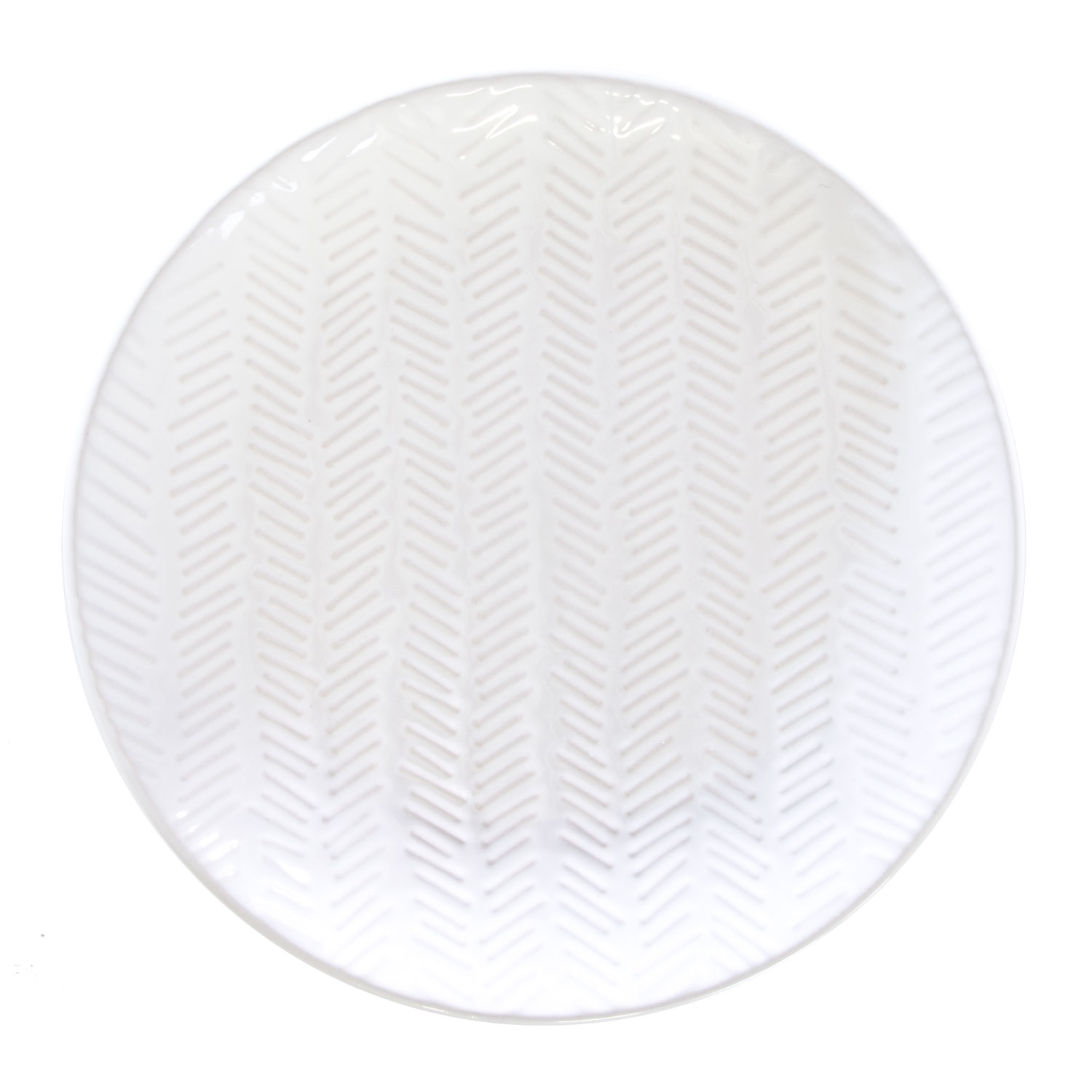 Square Side Plate White