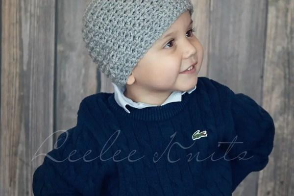 Boy's Crochet Hat Pattern
