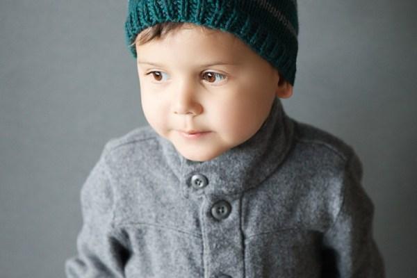Free Toddler Beanie Knitting Pattern