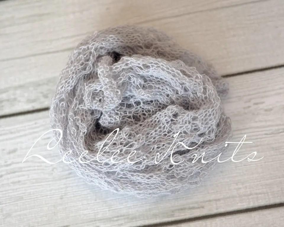 Newborn Lace Knit Wrap Pattern