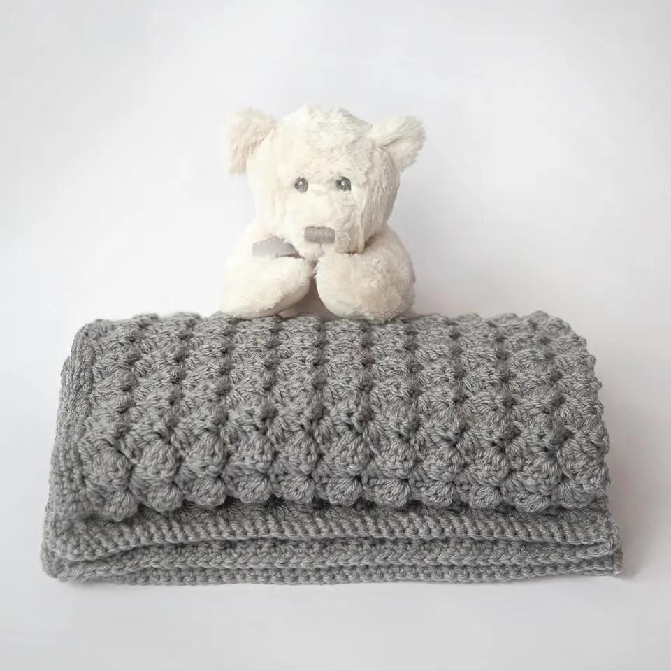 Leelee Knits crochet blanket stitch