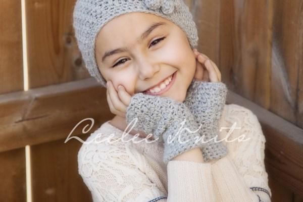 Headband and Hand Warmers Crochet Pattern