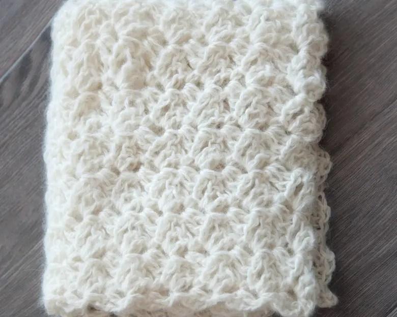 Free Newborn Wrap Crochet Pattern 1