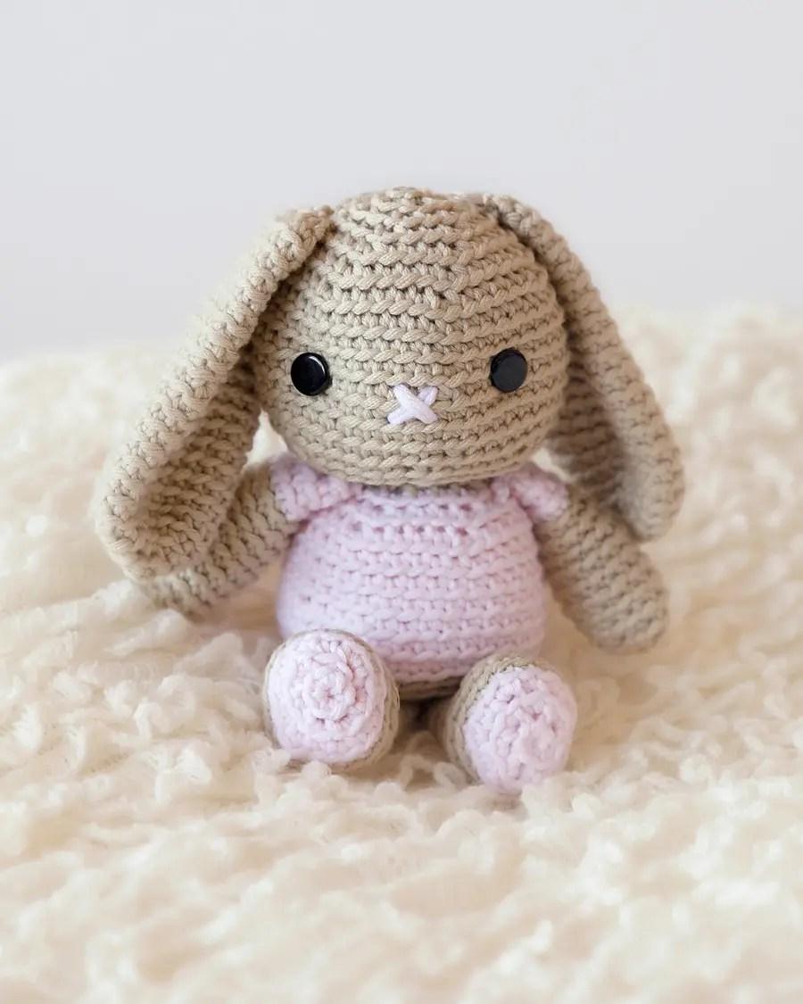 Knit Rabbit Pattern Free : Free crochet bunny pattern leelee knitsleelee knits