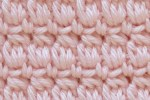 cozy cluster crochet stitch tutorial