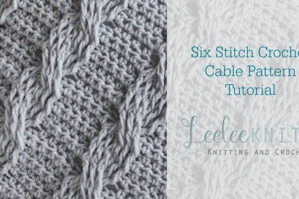 Six Stitch Cable Video Tutorial