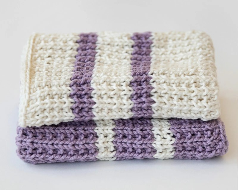 Knit Dish Cloth Pattern