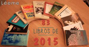 Los 83 libros de 2015