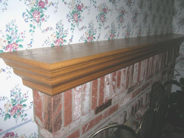 How To Build A Fireplace Mantel Shelf Woodworking Plans