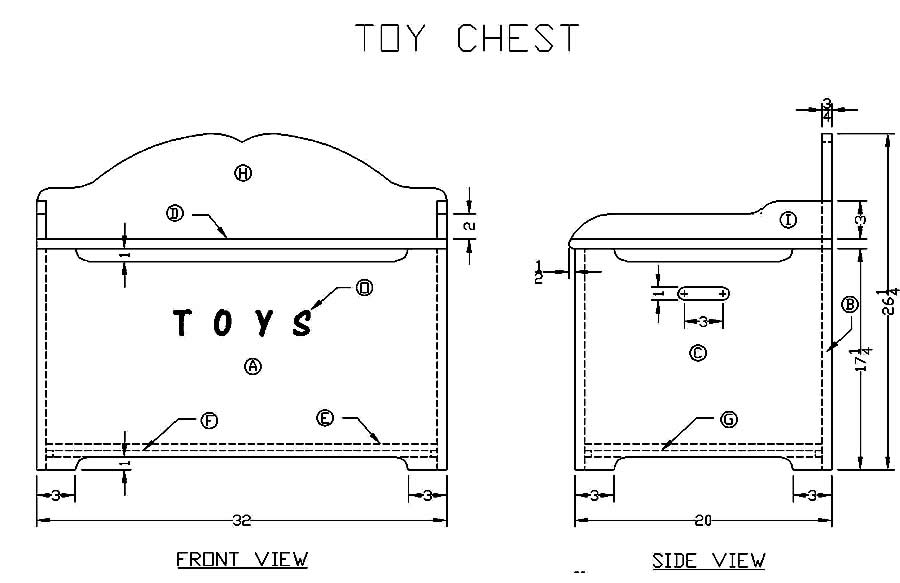 How To Build A Wooden Toy Box Woodworking Plans For Free