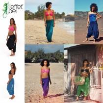 Sarouel Femme Margouillat L'effet Péi - île de la Réunion