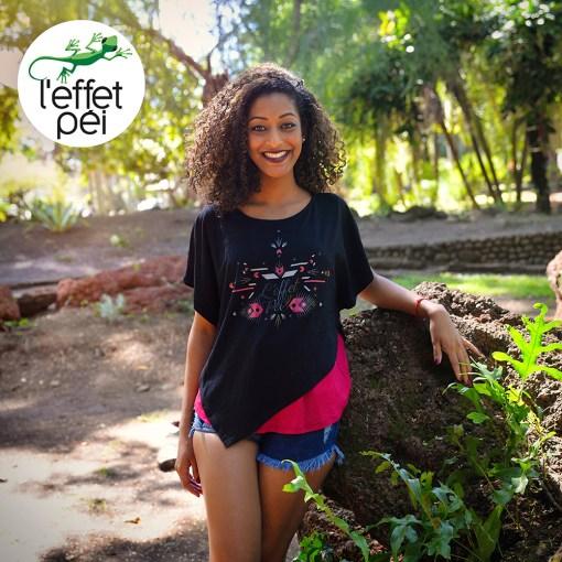 Top femme Elline - Jardin de l'État - Saint-Denis île de la Réunion