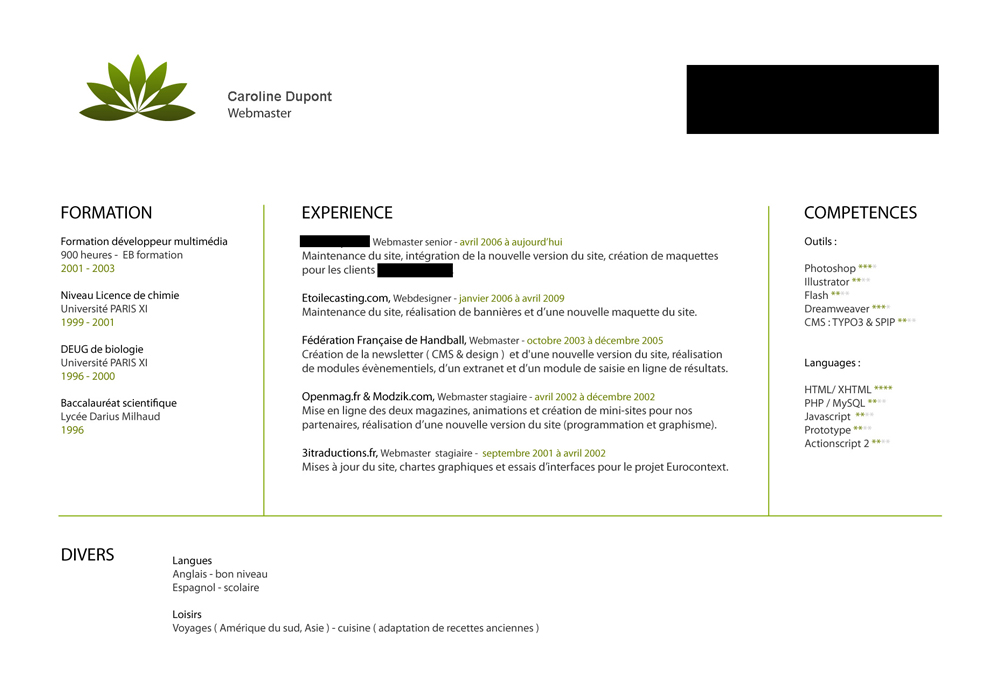 employe liciencie pour avoir enjolivie son cv