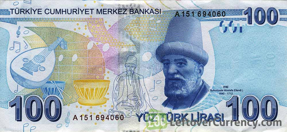 100 Turkish Lira 9th Emission Group 2009 Exchange